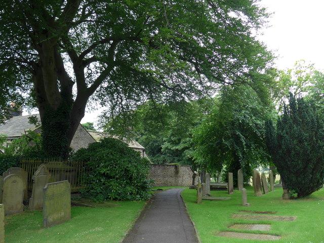 St Michael, Hathersage: churchyard (x)