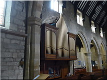 SK2381 : St Michael, Hathersage: organ by Basher Eyre