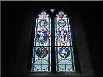 SK2381 : St Michael, Hathersage: stained glass window (III) by Basher Eyre