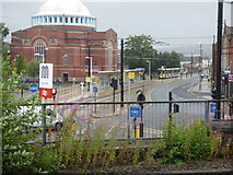SD8912 : Rochdale:  View from railway station by Dr Neil Clifton