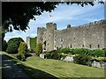 TQ0213 : Amberley Castle - The southern frontage by Rob Farrow
