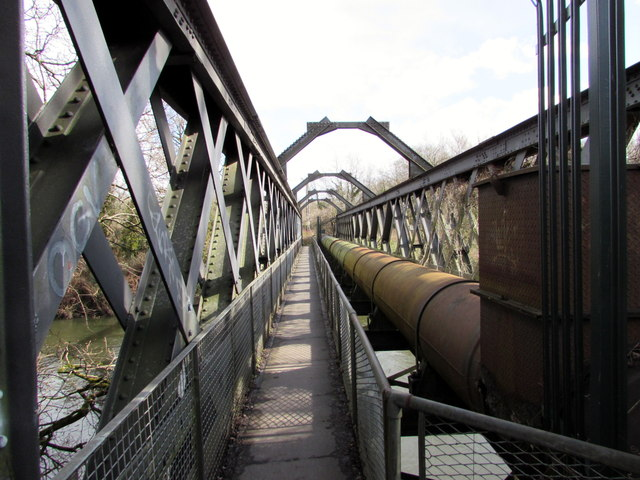 Iron Bridge over the Taff between Morganstown and Tongwynlais