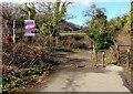 ST1381 : Taff Trail signposts near Iron Bridge, Tongwynlais by Jaggery