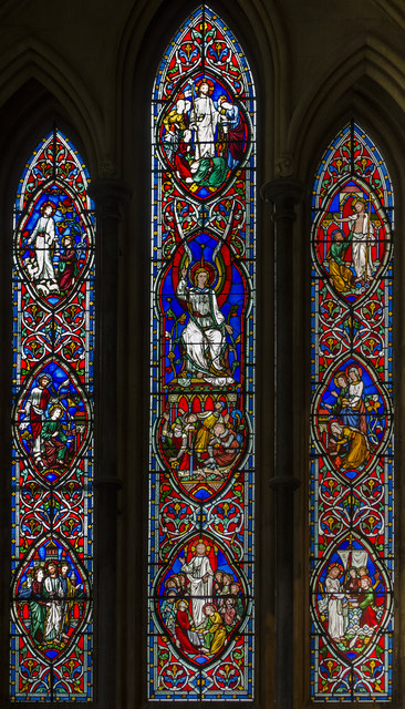 Cocks window, Worcester Cathedral