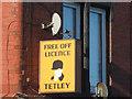 SE2535 : Old Tetley sign by Stephen Craven