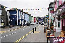 SN4562 : Market Street, Aberaeron by Bill Boaden
