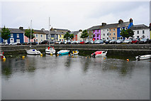 SN4562 : The inner harbour at Aberaeron by Bill Boaden