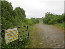 N0606 : Entrance to former quarry by Jonathan Thacker