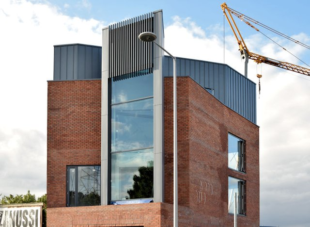 New Connswater Visitor Centre, Belfast - August 2015(2)