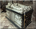 SJ7773 : St Laurence's church, Over Peover - tomb of Sir Philip Mainwaring (1) by Mike Searle