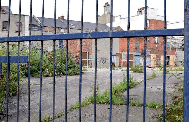 Development site, Bloomfield Avenue, Belfast - August 2015(1)