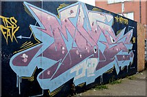 J3674 : Graffiti, Laburnum Lane, Belfast - August 2015(1) by Albert Bridge
