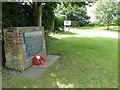 TG1527 : RAF Oulton Airfield Memorial by Adrian S Pye