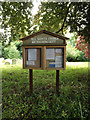TM1266 : All Saints Church Notice Board by Adrian Cable