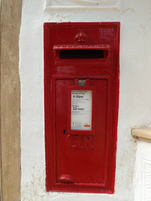 Post Office Main Street George V Postbox