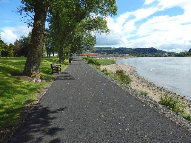 New path in Posties Park