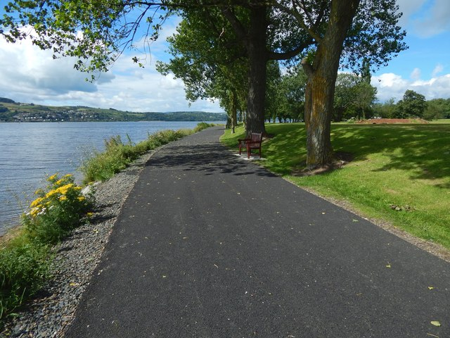 New path in Posties Park