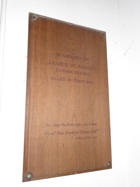 Plumstead WW2 Memorial
