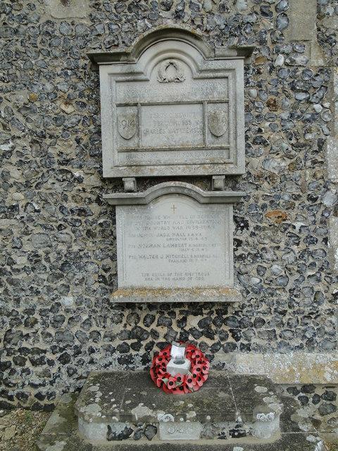 Tuttington War Memorials