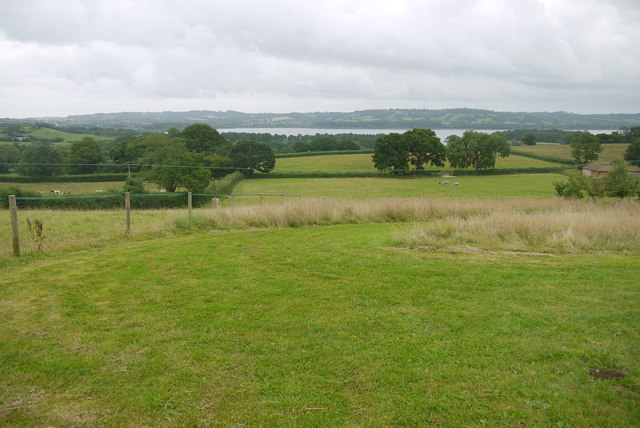 Fields Above Chew Valley Reservoir