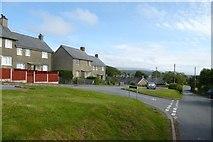 SH5729 : Llanfair by DS Pugh