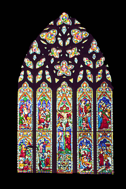 East Window St Mary's West Tofts