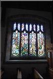 SD9772 : Memorial window, Kettlewell Church by David Smith