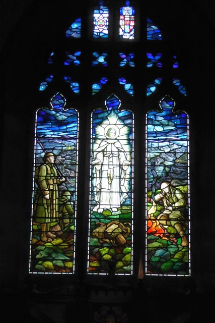 East window, Kettlewell Church