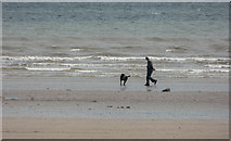 TA1281 : Filey Beach, Yorkshire by Christine Matthews