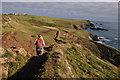 SW6912 : Cornwall : South West Coast Path by Lewis Clarke