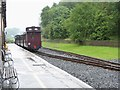 SO0612 : Brecon Mountain Railway at Pontsticill by Eirian Evans