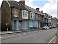 SM9438 : Old shop fronts in Main Street, Goodwick by Jaggery