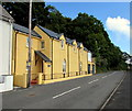 SM9438 : Yellow holiday cottage in Quay Road, Goodwick by Jaggery