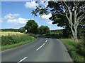 NU2114 : Bend in the minor road towards Longhoughton  by JThomas