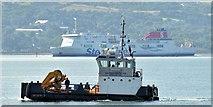 "J4186 : The ""Challenger of Leith"", Belfast Lough - August 2015(1) by Albert Bridge"