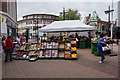TA0928 : Fruit & Veg stall on King Edward Street, Hull by Ian S