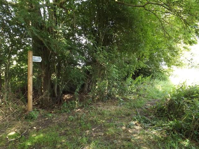 Water Lane footpath to Thwaite Road