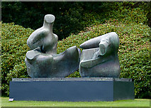 SE2813 : Reclining figure, Yorkshire Sculpture Park by Paul Harrop
