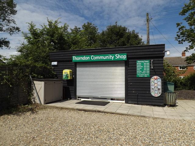 Thorndon Community Shop
