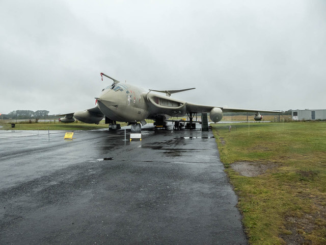 "Handley Page Victor ""Lusty Lindy"", York Air Museum"