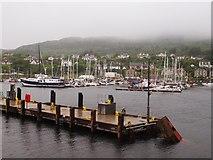 NR8668 : Marina Tarbert Loch Fyne by Steve Houldsworth
