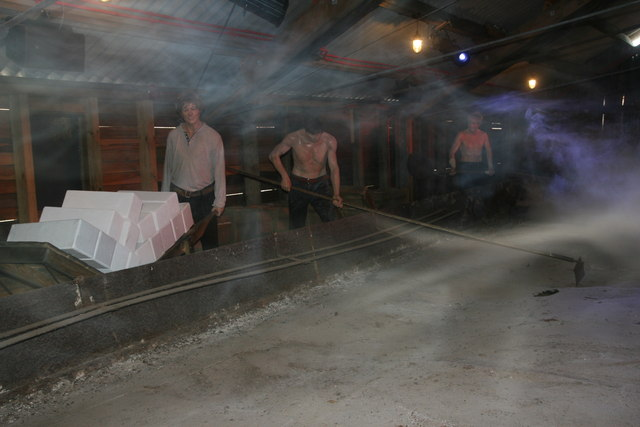 Lion Salt works - salt making experience