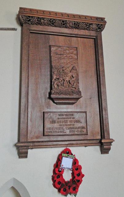 WW2 Memorial at Trimingham