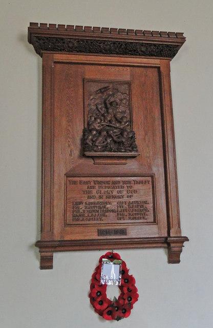 The WW1 Memorial at Trimingham