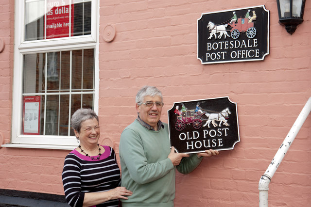Botesdale Post Office closed
