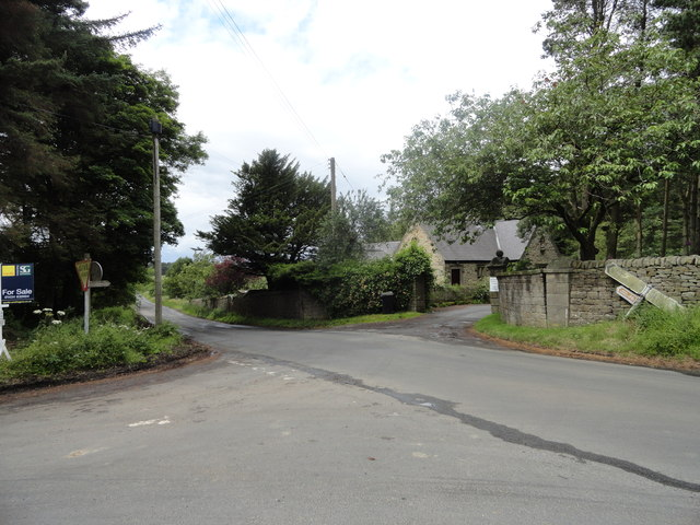 Road junction at Barleyhill