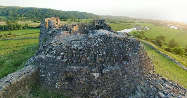 The Inner Ward of Dryslwyn Castle
