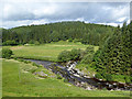 NY2590 : Confluence of the Black Esk and the White Esk Rivers by Oliver Dixon