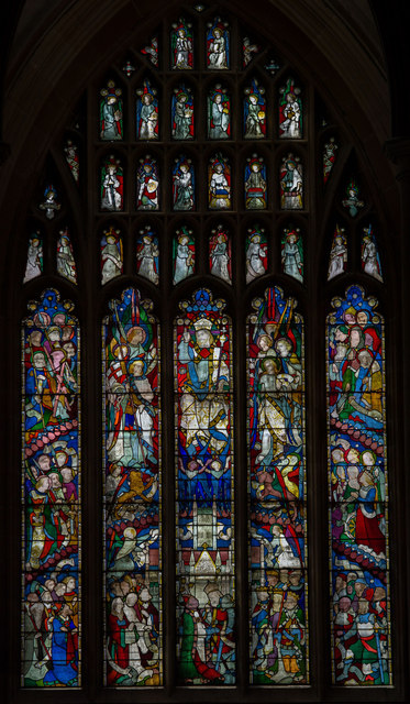 West window, St James' church, Louth