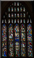 TF3287 : West window, St James' church, Louth by J.Hannan-Briggs